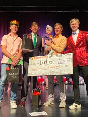 On Thursday, the Shallowater Student Council held their annual Mr. Mustang event, raising more than $30,000 for a local family.