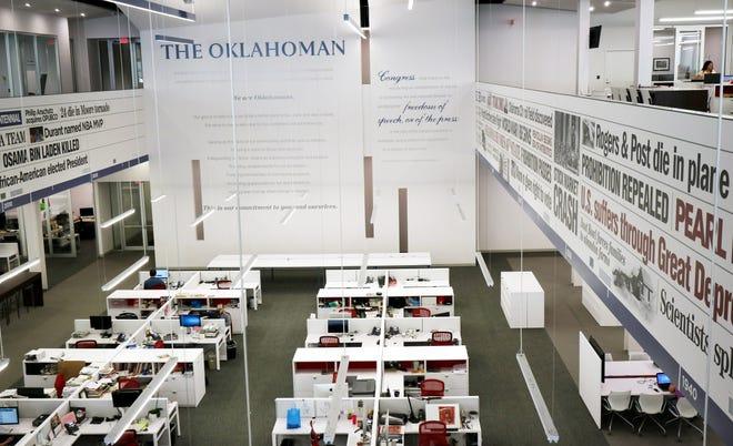 The Oklahoman newsroom