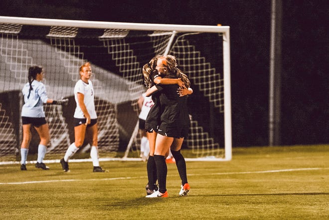 Oklahoma State defeated South Alabama 7-0 in the second round of the NCAA women's soccer tournament Friday in Greensboro, N.C.