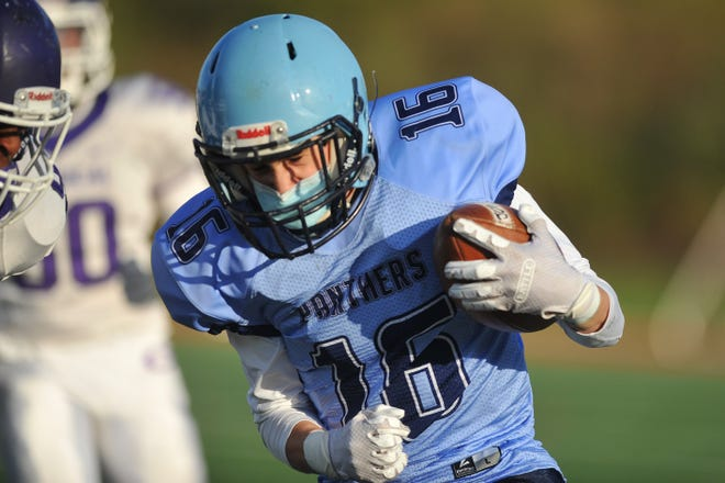 He won't be the biggest player out there when Johnston takes the field against Coventry in Saturday's Division III Super Bowl, but few players will be bigger if the Panthers want to leave with the title.