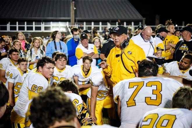 Murphy coach David Gentry won his ninth state title earlier this year.