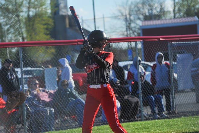 Bucyrus' Natalie Hankins belted a walk-off two-RBI single to win the game in six innings.