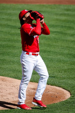 Opening Day starter Luis Castillo is only 2-4 with a 6.42 ERA and the Reds have lost six of his seven starts.