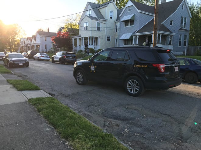 The Hamilton County Coroner's Office and Norwood Police were at a residence in the 1800 block of Tilden Avenue in Norwood on Friday.