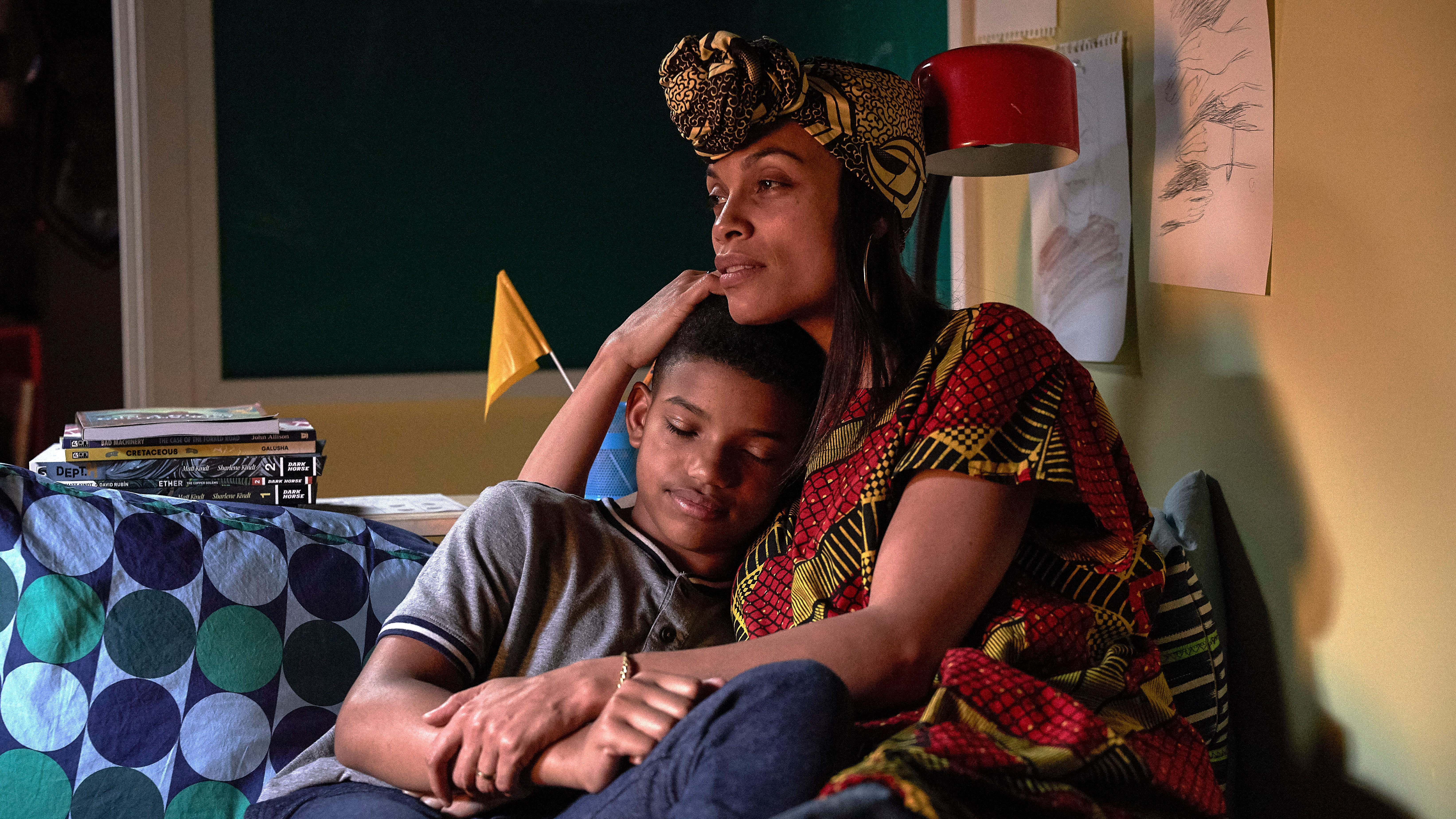 The Water Man' Rosario Dawson on father's cancer, Cory Booker move