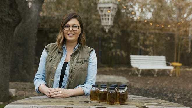 Marianne Eaves worked on blending the newest release of Sweetens Cove bourbon while living in Central Texas. She sometimes worked out of the Vuka co-working space.