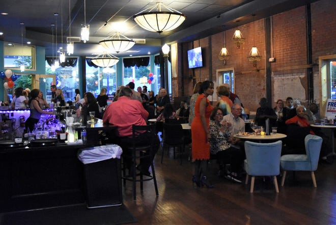 Amarillo's incumbent candidates held an election watch party at Craft Cocktail Lounge on Saturday, May 1 in downtown Amarillo.