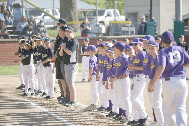 Baseball was back in full swing Saturday for opening day in Cal Ripken at the Cooper County Baseball Association Ballfield at Harley park. In addition to 12 hours of baseball in the Minor and Major divisions, players and coaches were also introduced during opening ceremonies.