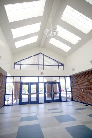 Boonville Superintendent Sarah Marriott said the new foyer at Boonville High School will be open for business on Wednesday if everything goes as planned. The foyer is part of the Phase 1 project, which was a bond passed by the voters with a no tax increase in 2019.