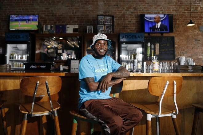 Karrio Ballard opened Addella's on Oak during the pandemic and has struggled. He applied for a Paycheck Protection Program loan but was refused because the restaurant hadn't opened yet.