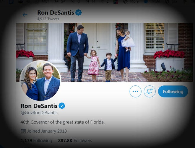 Woe betide Twitter if Ron DeSantis' account is ever de-platformed or shadowbanned. Or not.