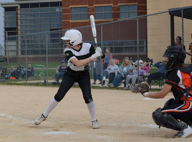 Senior outfielder/leadoff hitter Kaitlin Stefek helped North Boone to a school-record 16-4 finish in the Big Northern Conference in 2019 and has helped the Vikings to a 7-0 (2-0) start this year in a quest for their first-ever BNC softball title.