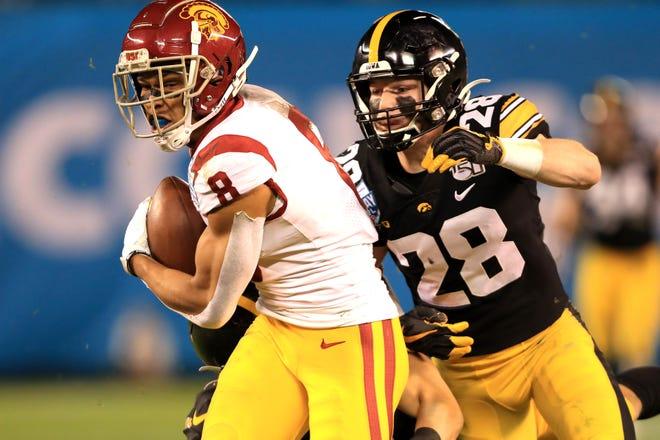 Lions memilih penerima USC Amon-Ra St. Brown di babak keempat NFL Draft.