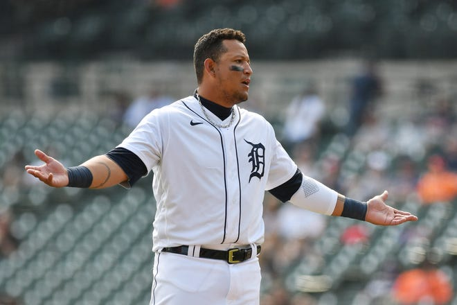 Miguel Cabrera dari Tigers, mencetak 0,125 gol musim ini dengan hanya lima RBI.