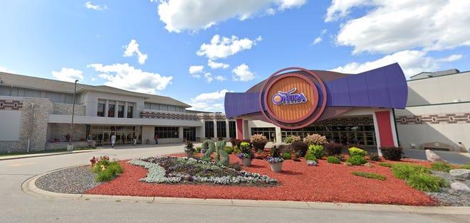 Kasino Oneida di Green Bay, Wisconsin.