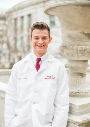 Brandon native and former Augustana quarterback Chase Marso graduated this month from Harvard Medical School.