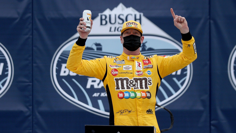 Kyle Busch wins NASCAR Buschy McBusch Race 400 at Kansas on 36th birthday