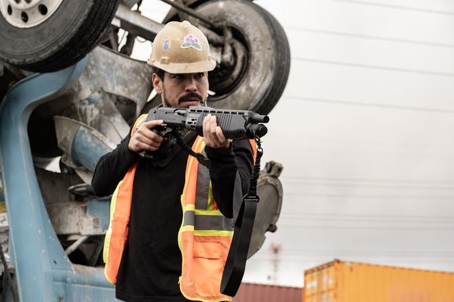 """Raúl Castillo stars as Sam in director Guy Ritchie's """"Wrath of Man."""" The actor spent some time in Austin early in his career."""