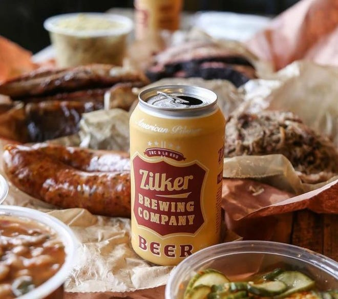 La Barbecue has moved into a new building at 2401 E. Cesar Chavez. The barbecue restaurant that started in a food trailer also recently teamed up with Zilker Brewing Company to make this pilsner.