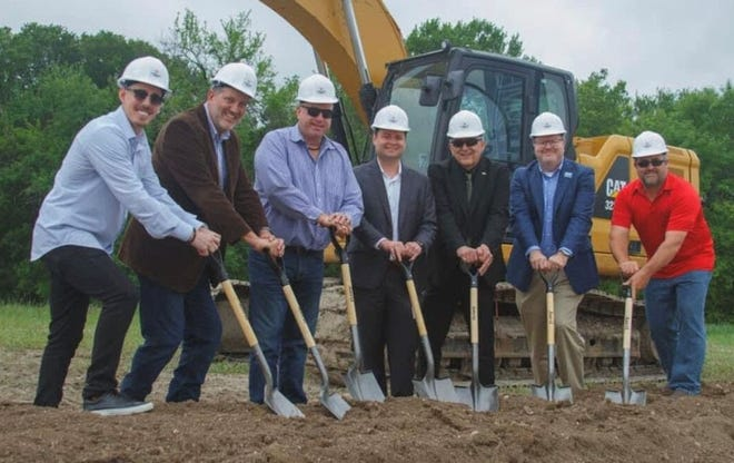Representatives from the City of Anna and development company Centurion America recently broke ground on the Villages of Hurricane Creek, which will be located on the west side of US 75.The Anna 2050 Comprehensive Plan approved by the city council will serve as a road map for future development in the city.