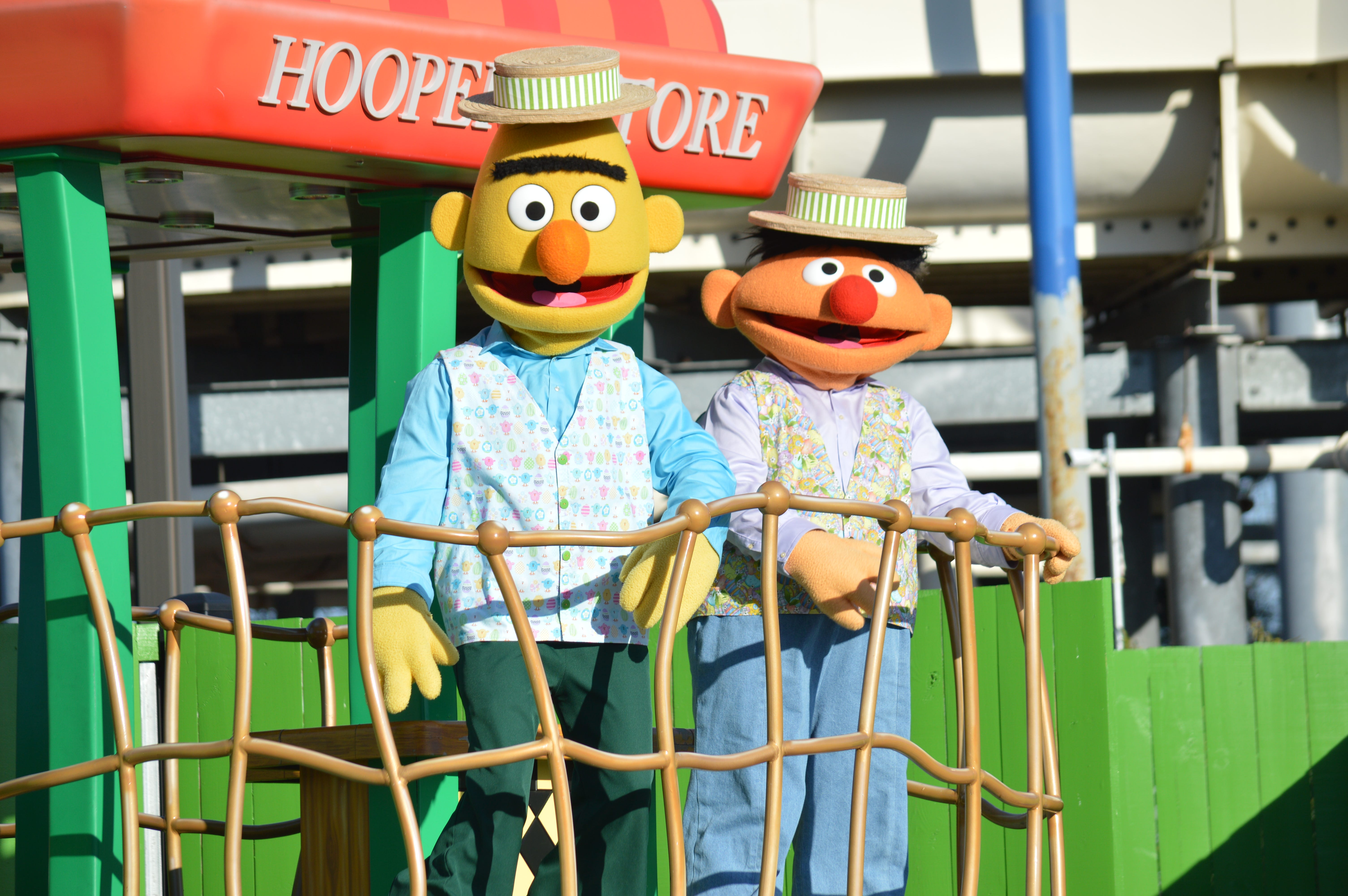 Guests can take photos with various Sesame Street characters at Sesame Place in Langhorne this season.