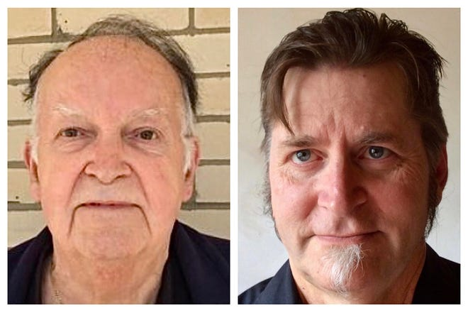 """Former Ambridge Councilman Gerald """"Duke"""" McCoy, left, is running unopposed in the Democratic primary to face business owner Dennis Lapic, right, a historic preservation advocate running unopposed in the Republican primary."""