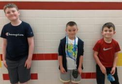 Pictured above: Greyson Montgomery, Brandon Swartz, and Cameron DiStefano. Wayde Morgan (not pictured)