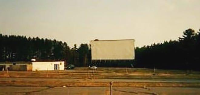 The Mohawk Drive-in screen in Gardner.