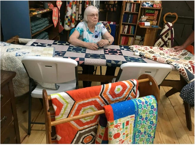 Marilyn Nelson, Cambridge, will display the quilts she has made in her long career as a quilt-maker during the month of May at the Bishop Hill Creative Commons, 309 North Bishop Hill St. in Bishop Hill. Nelson also will have a variety of quilts and quilted items offered for sale. She began quilting at a young age and, now in her 80's, continues to quilt. For 35 years, she owned and operated a quilt shop in the location of what is now the Bishop Hill Creative Commons art cooperative, a building that was built by Nelson and her husband, Wilbur. She retired from operating the quilt shop on a full time basis in 2018, but has maintained a booth at the Creative Commons and continues to be involved with various quilting groups. The Bishop Hill Creative Commons is open from 10 a.m. to 4 p.m. Wednesday through Saturday and from noon to 4 p.m. on Sundays. For more information about Bishop Hill Creative Commons, visit bishophillcommons.com.