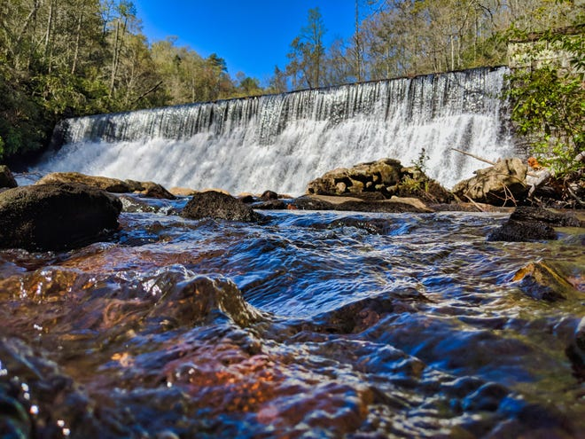 The Hendersonville Water Treatment facility has several sources for water including the North Fork intake located deep within Pisgah National Forest.