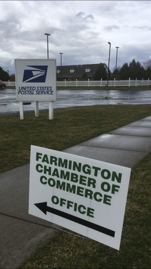 The Farmington Chamber of Commerce now has office space, in Mrs. Brake's Spices, 1560 state Route 332.