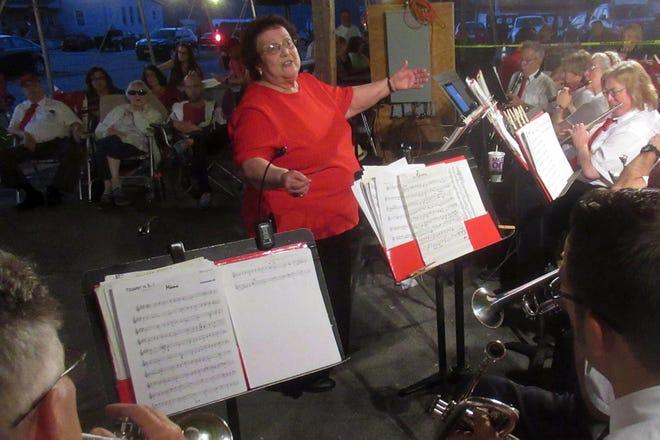 ArleneM.Iagnocco, music directorand conductor of La Banda Rossa.