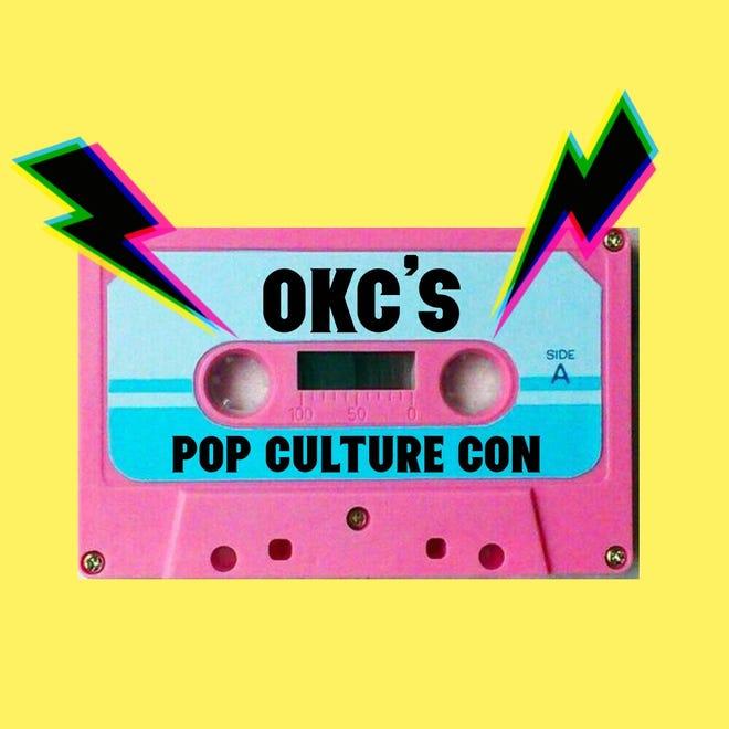 Promotional art for the OKC Pop Culture Show,okcpop.com.