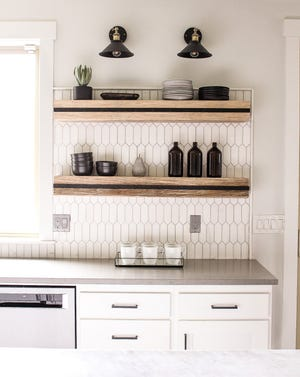 """Thanks to a variety of products making DIY easy, you can affordably give your kitchen that """"wow factor"""" in an afternoon or weekend."""