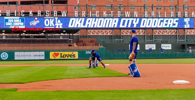 The Oklahoma City Dodgers will host Sacramento on Thursday night for their first game at Chickasaw Bricktown Ballpark since 2019.