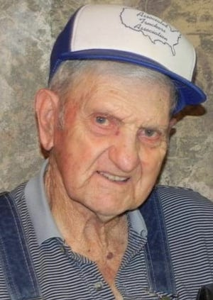 """Charles """"Pen"""" Wells will celebrate this 100th birthday on Sunday, May 9 from 2-4 p.m. at the VFW Hall, 23 N. 20th St., Van Buren."""