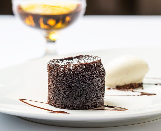 Mother's Day desserts at Cafe Boulud will include warm chocolate cake.