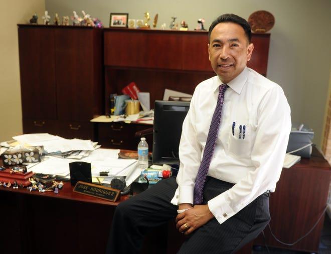 Jose Rodriguez, CEO El Concillo, in his office. (CALIXTRO ROMIAS/THE RECORD, 05/10/16)