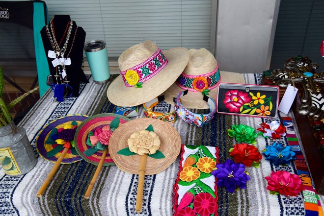 Merchants at Welcome to Winters' Main Street Market Days brought everything from clothing to jewelry to Mexican spices to the event.