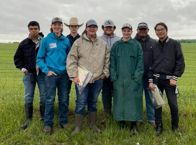 The Stephenville Homesite Team placed 17th in the State. Members are Cade Castleberry 5th individual; Mace Parham, 10th Individual; Logan Lewallen; and John Wayne Ogle. The Environment and Natural Resources team placed 13th in the State. Members are Jorge Aguilar, Isaac Taylor, Jahir Guerra and Zach Villarreal.