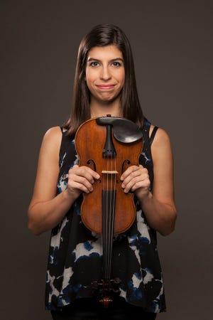 Violinist Samantha Bennett is a co-founder and co-artistic director of ensembleNEWSRQ.