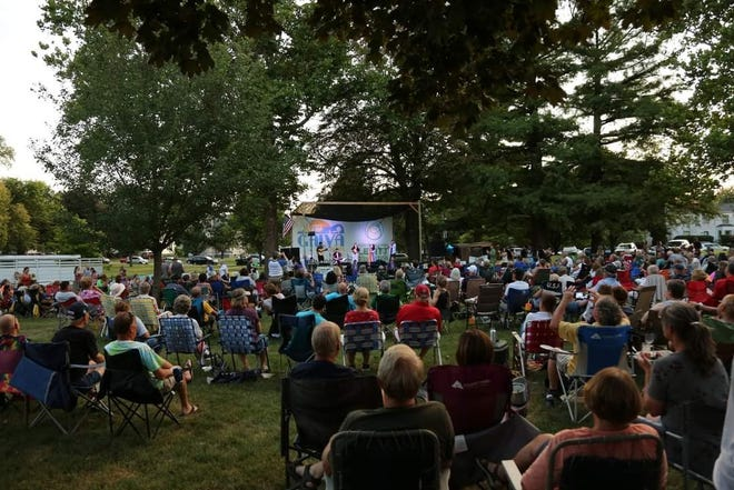 After a year off, crowds will be returning to Galva on Sundays for the Leavitt AMP music series.