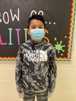 Joshua Laureano Gonzalez of Bradley Creek Elementary is New Hanover County Schools' Student of the Week