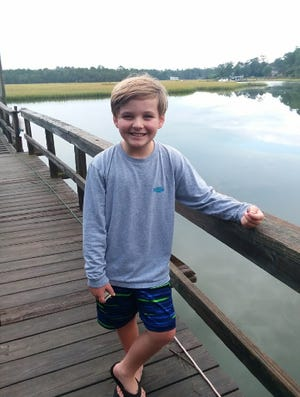 Noah Devane of North Topsail Elementary is Pender County Schools' Student of the Week.