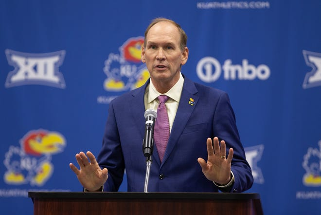 University of Kansas football coach Lance Leipold had a busy Memorial Day weekend, bringing in six transfers from his previous job at Buffalo.