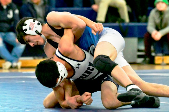 A recently crowned national wrestling champion at 113-pounds, St. John's Prep senior tri-captain Nick Curley is expected to compete for an MIAA All-State title this spring. In a normal season, the Burlington teen would have a shot at eclipsing 200 career wins, but he'll likely have to be satisfied with somewhere north of 150, but, more importantly, with a chance to take aim at a second consecutive Dual Meet Team State Championship.