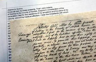 Register of Deeds William P. O'Donnell reminded genealogy enthusiasts and those with an interest in the rich history of Norfolk County that all registry hand-written land documents have been transcribed and are available for viewing online.