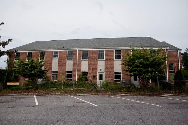 The Asheville PEAK Academy in West Asheville, formerly the Azalea Mountain School, May 3, 2021.