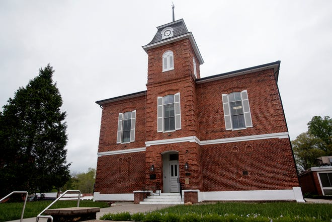 The Transylvania County Courthouse in Brevard May 3, 2021. After a staffer tested positive for COVID-19, the Transylvania County Clerk of Superior Court is adjusting court calendars and office hours.