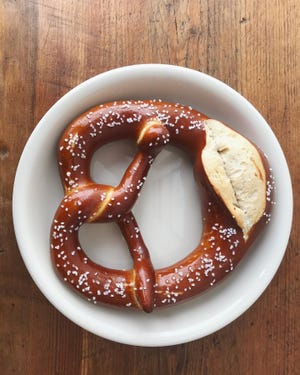 The Swabian-style pretzel from Tuba Baking Co.
